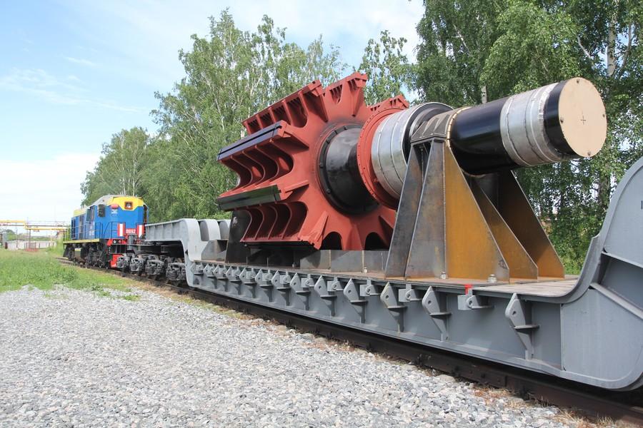 «ЭЛСИБ» начал отгрузку гидрогенераторов для Зарамагской ГЭС-1