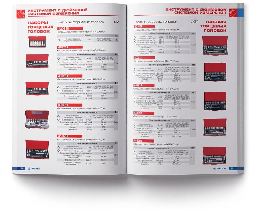 Раздел «Инструмент с  дюймовой системой измерения»