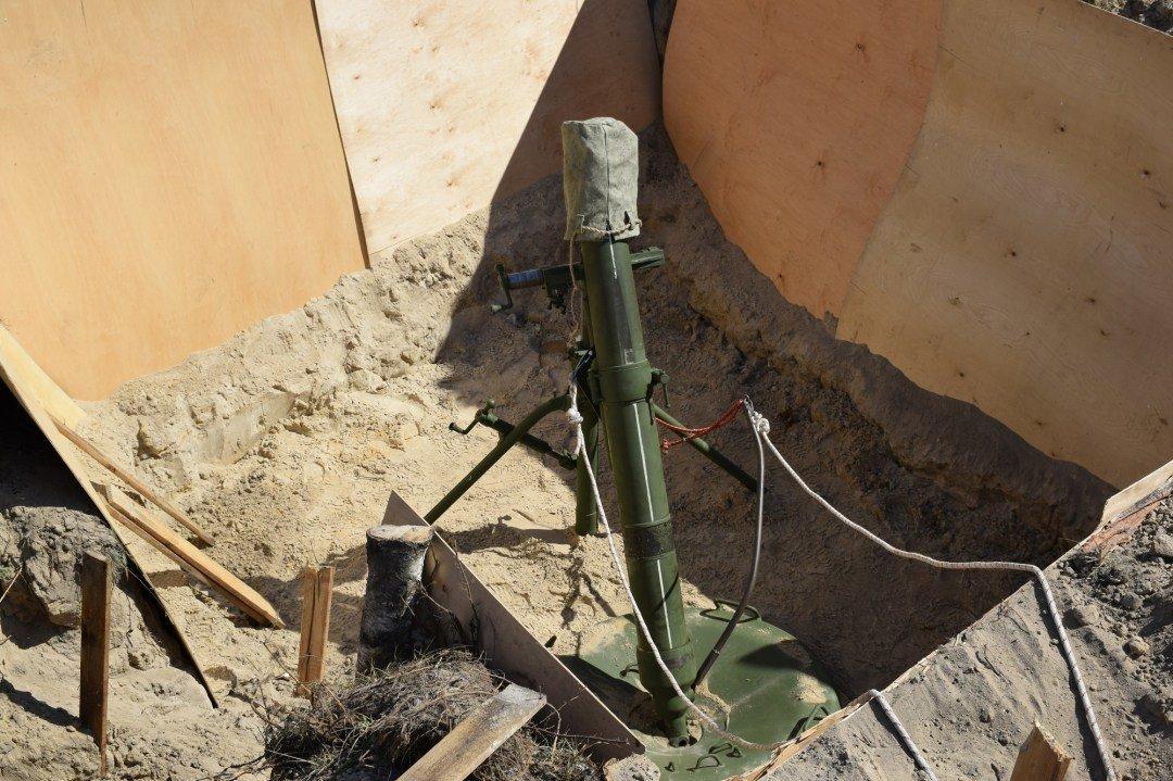 """Миномет """"Молот"""" взорвался из-за двух мин в стволе — следственный эксперимент"""