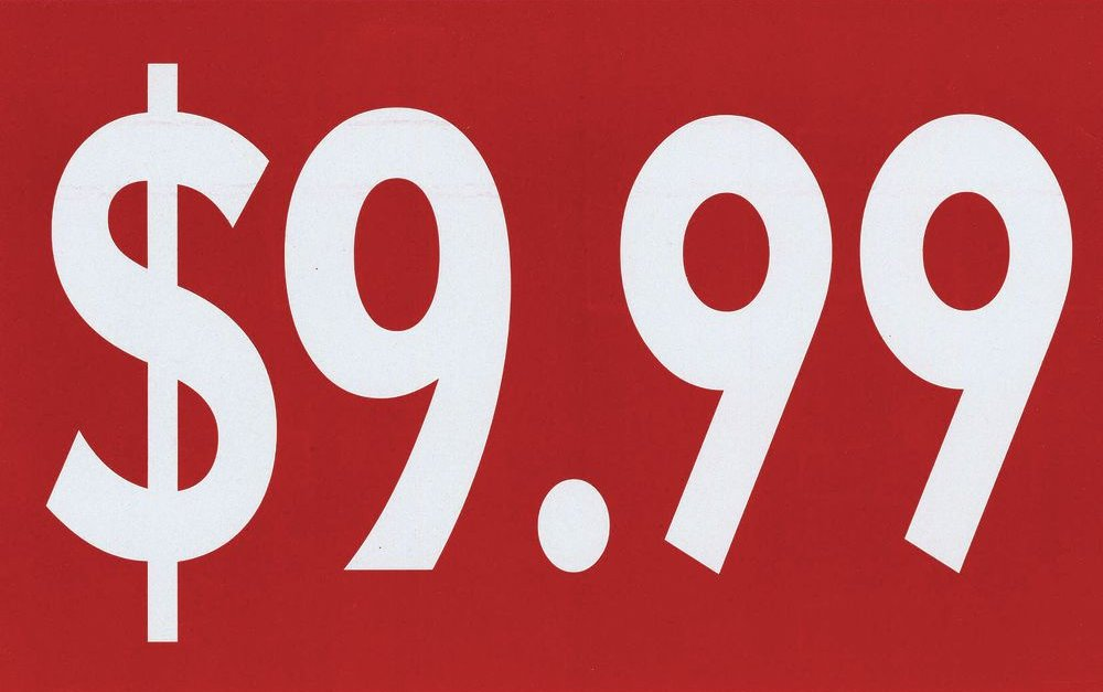 """Прощай """"9.99"""". В Украине начали округлять цены до 10 копеек"""
