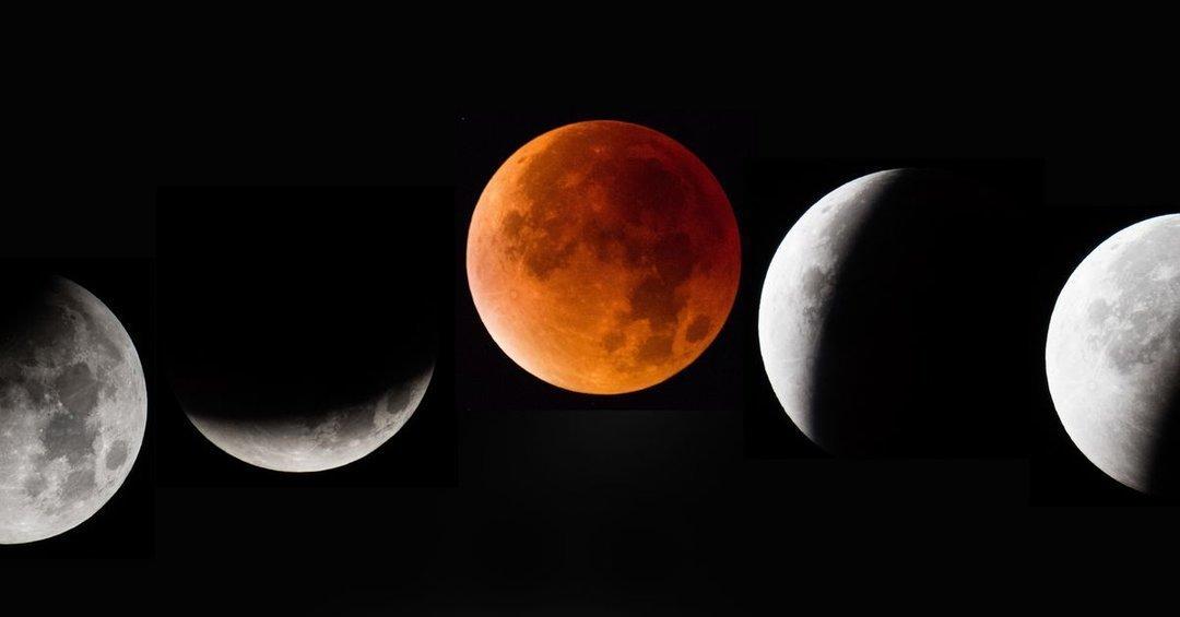 Сегодня произойдет уникальное лунное затмение