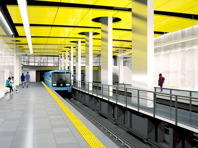 Строительство двух станций метро на Виноградарь обойдется городу в 6,3 млрд грн