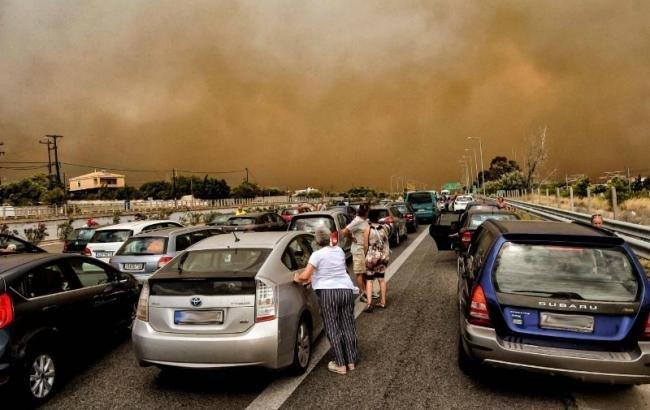 Украинцев нет среди погибших в результате лесных пожаров в Греции — МИД