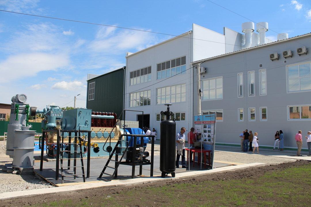 В Каменец-Подольском построили уникальную теплоэлектростанцию на биомассе