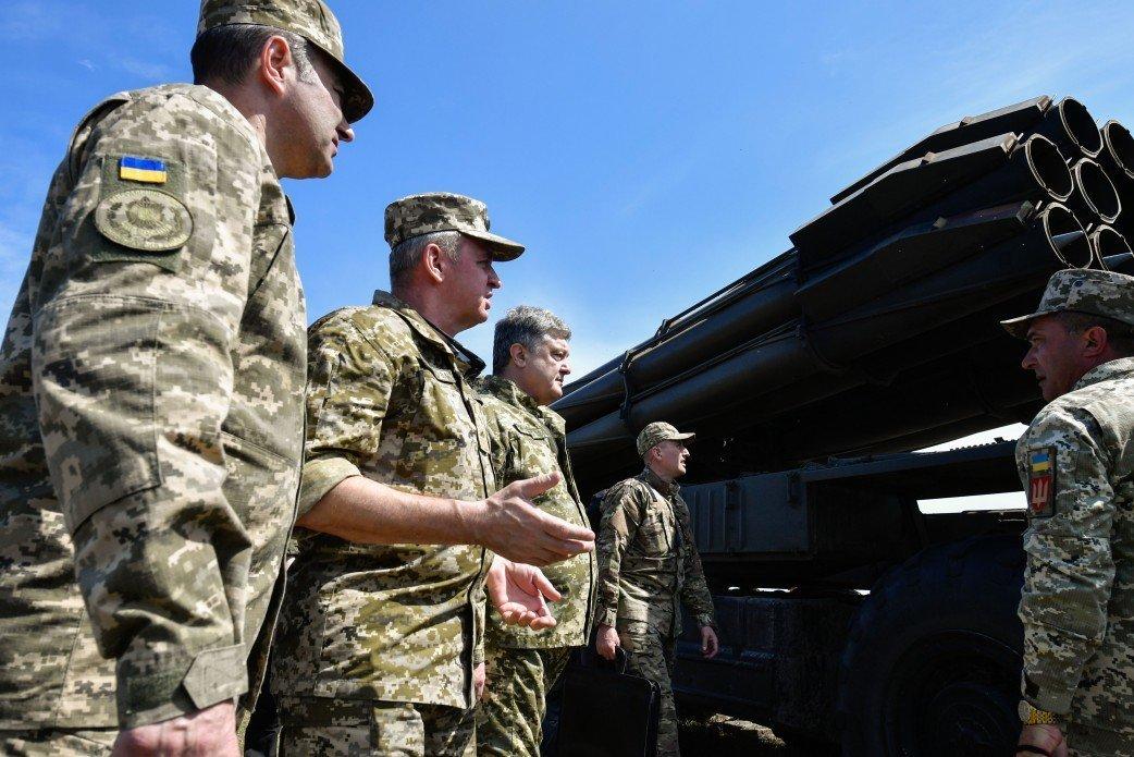 За первые сутки перемирия боевики 25 раз обстреляли украинские позиции