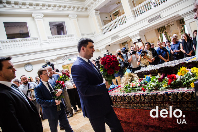 Как Украина прощалась с Левком Лукьяненко