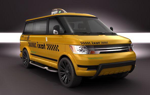Заказать такси минивэн в Москве