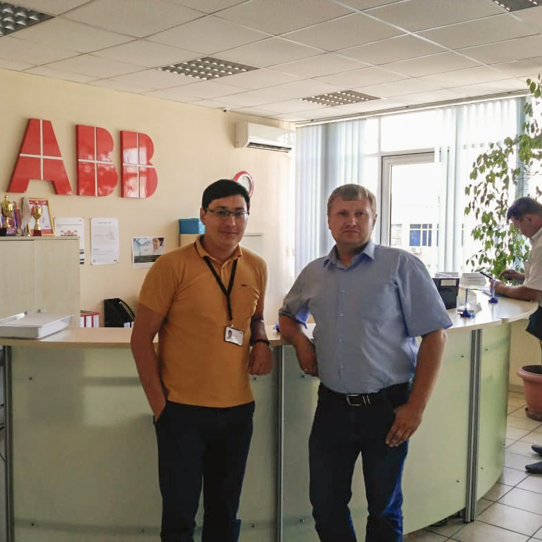 Состоялась рабочая встреча ТОО «СЗЭМО-Азия» с ABB