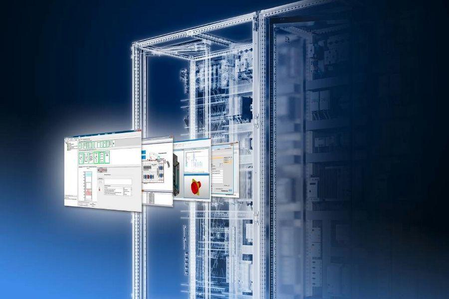 Компания Rittal представила новую систему крупногабаритных шкафов VX25