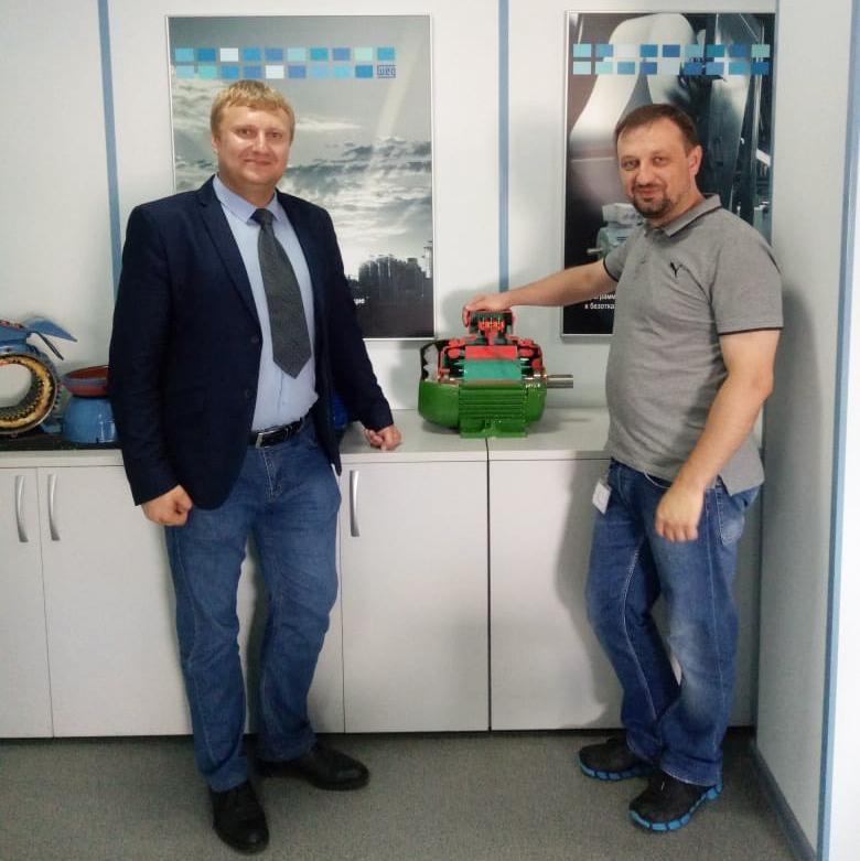 Руководитель ТОО «СЗЭМО-Азия» прошел курсы по продукции WEG в Санкт-Петербурге