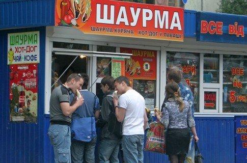Количество отравившихся шаурмой в Киеве достигло 83 человек