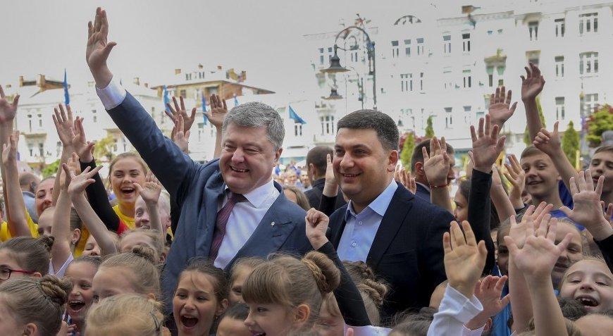 Украинцы еще не готовы к изменениям полномочий президента и премьера — соцопрос