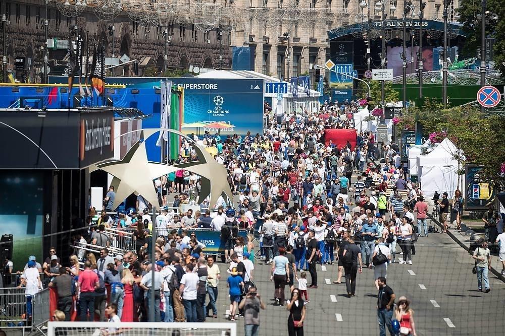 В Киев приезжает все больше иностранных туристов