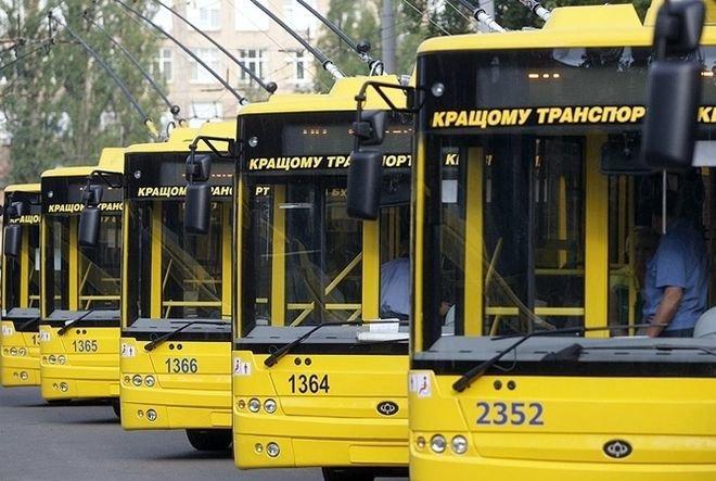 В Киеве появился новый ночной троллейбусный маршрут (схема)