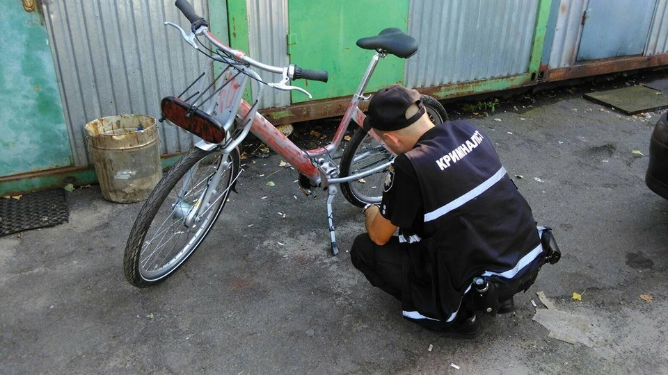 В Киеве пытались украсть велосипед Nextbike