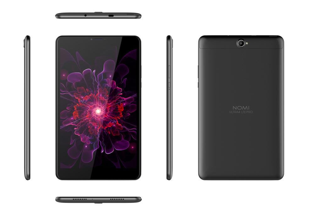 Nomi начала продажи самого доступного планшета с LTE и Android 8.1 в Украине