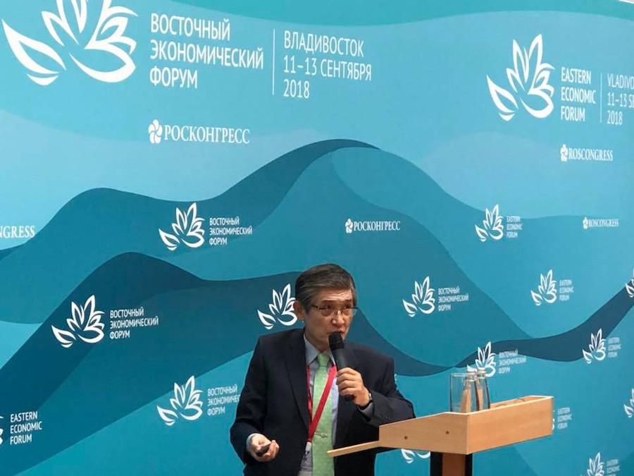 Рае Квон Чунга провел лекцию в рамках «Энергии знания» на ВЭФ-2018