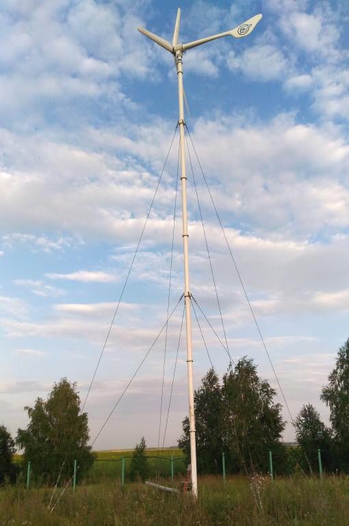 На ООО «Тольяттинский Трансформатор» продолжается отработка конструкции и технологии ветрогенераторов