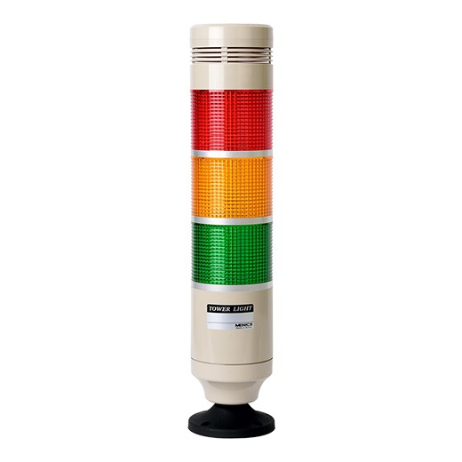 Светодиодная сигнальная колонна от Autonics с эксклюзивным призматическим плафоном Menics