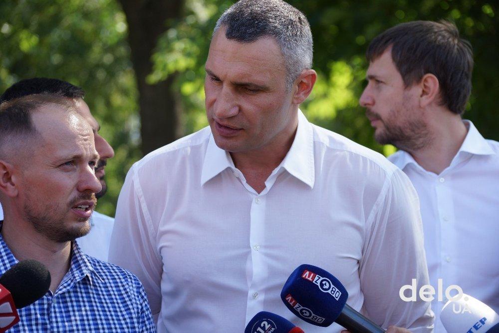 Кличко отреагировал на скандал вокруг стройки на Осокорках