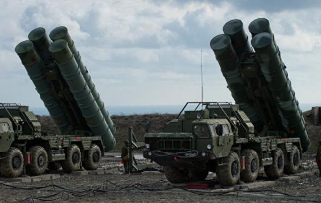 Россия развернула в Крыму ракетные комплексы С-400