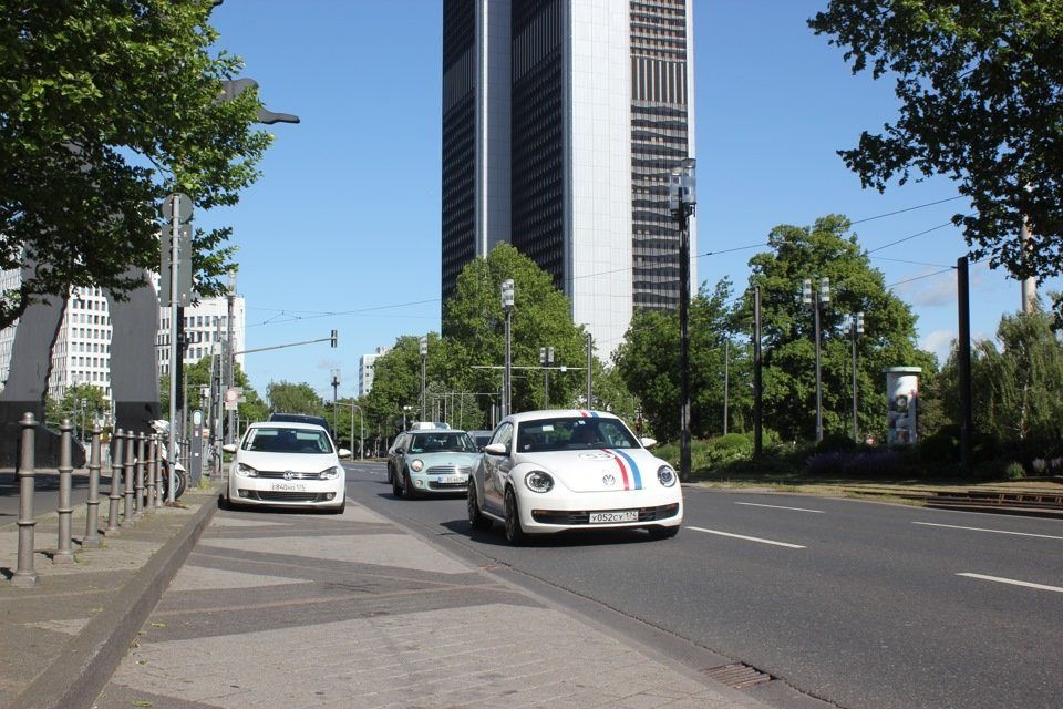 Франкфурт запретил въезд дизельным автомобилям