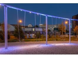 IntiSPOT для крупнейшего в России игрового комплекса под открытым небом «Салют»
