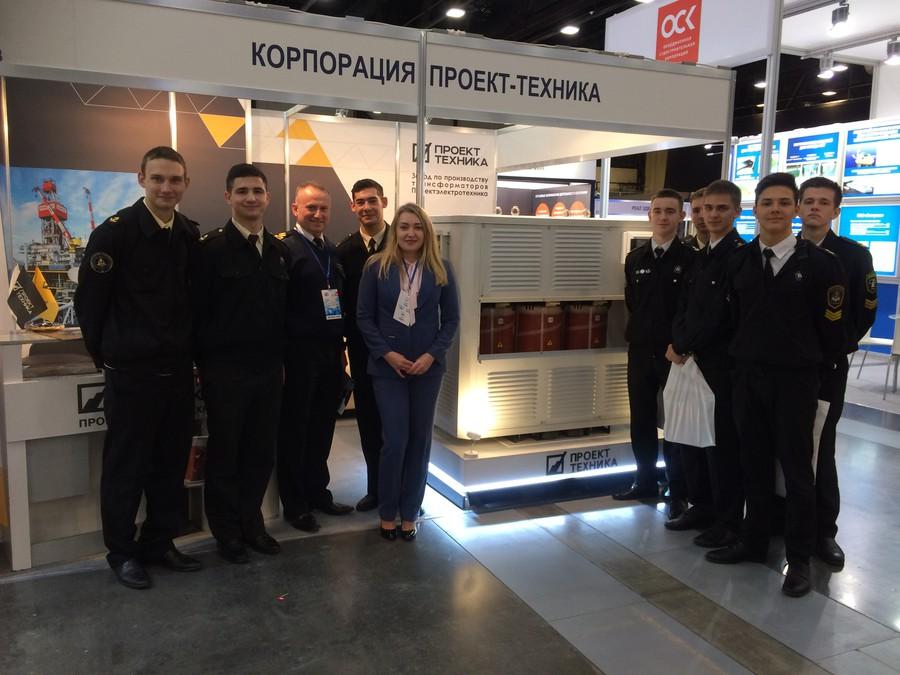 «Проектэлектротехника» приняла участие в петербургской выставке «OFFSHORE MARINTEC RUSSIA»