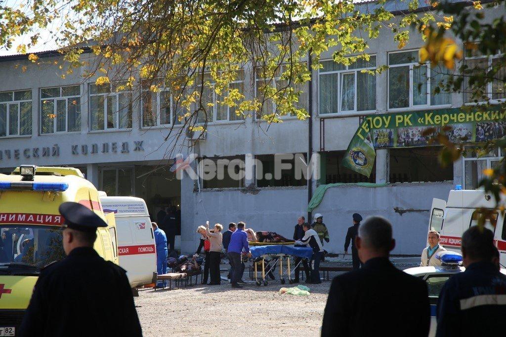 В колледже в Керчи погибли 18 человек — студент стрелял в людей, потом застрелился