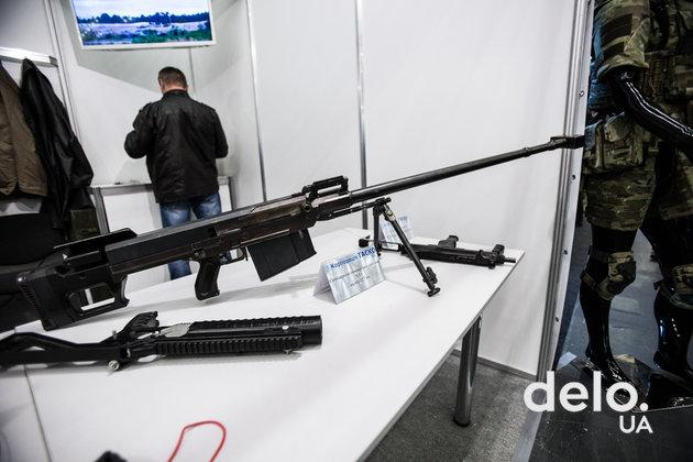 """Какое вооружение привезли на выставку """"Оружие и безопасность — 2018"""" (фото)"""