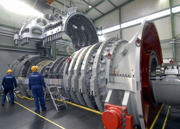 «Газпром» приобретет две турбины Siemens для Грозненской ТЭС