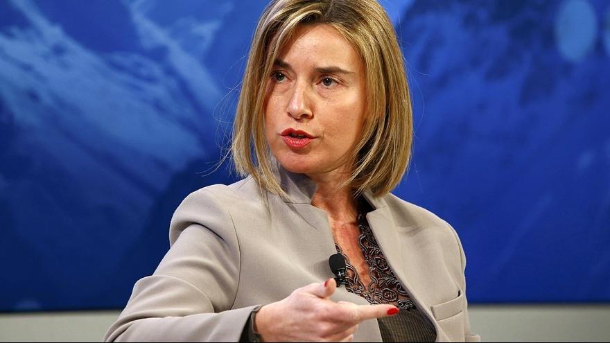 Могерини отказалась признавать выборы на оккупированной территории
