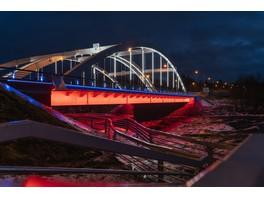 Кастомизированные решения от IntiLED для автомобильного моста через реку Вуокса