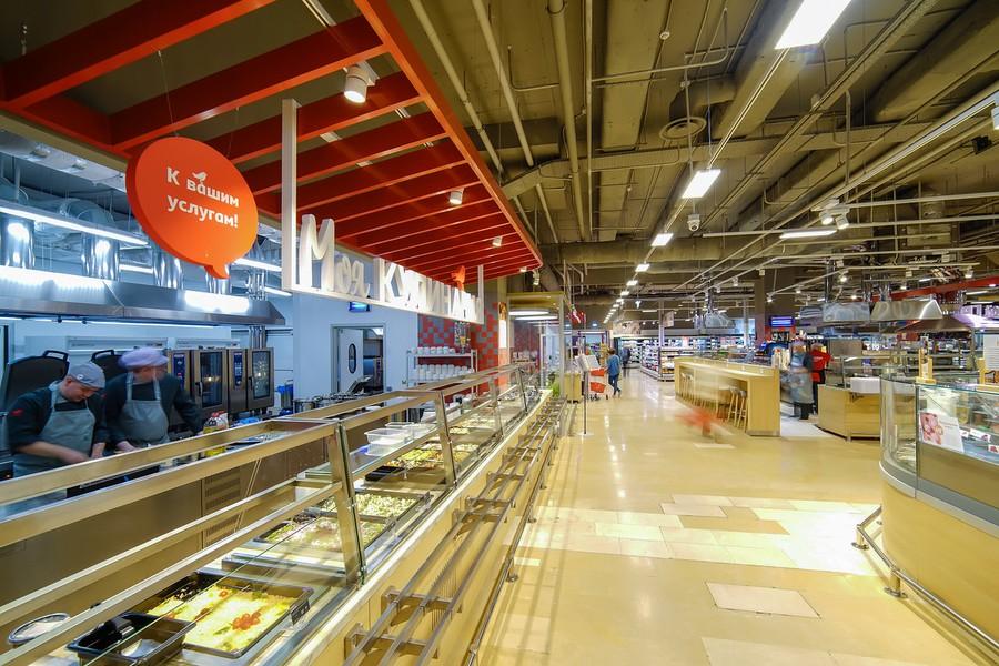 Компания Signify разработала систему освещения для магазинов «Ашан» новой концепции «Одастор»