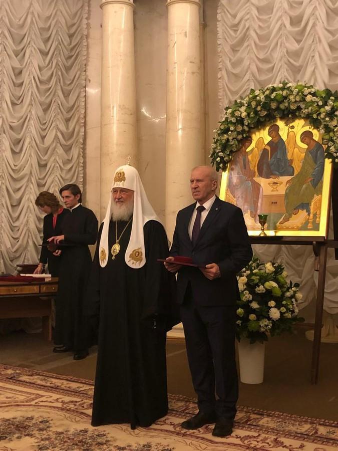 Лауреат «Глобальной энергии» 2018 года Сергей Алексеенко получил Макариевскую премию