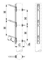 В каталоге ЭТМ появилась одноцепная траверса марки SH157.30 от Ensto
