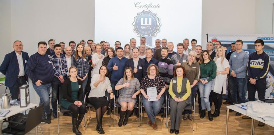 Главный офис WEICON в Германии посетили сотрудники ЮМП и партнёры