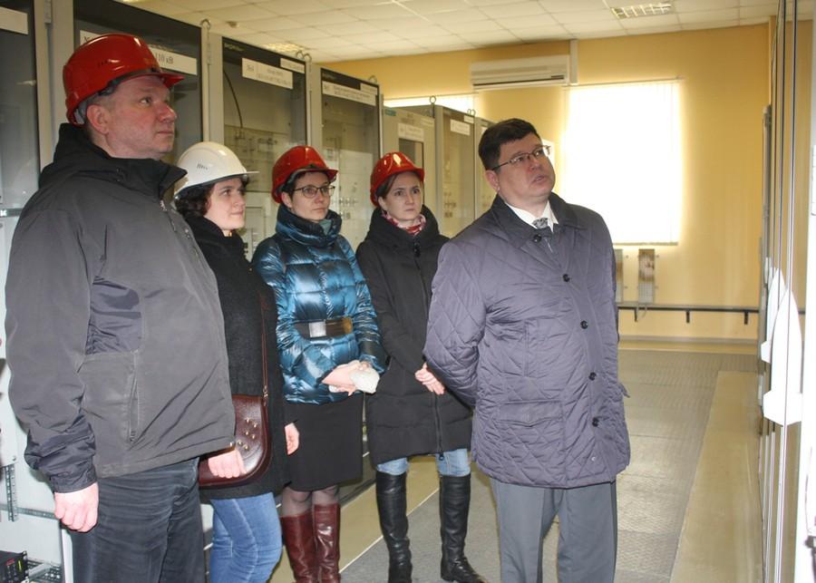 «Ивэнерго» посетили представители департамента энергетики и тарифов Ивановской области