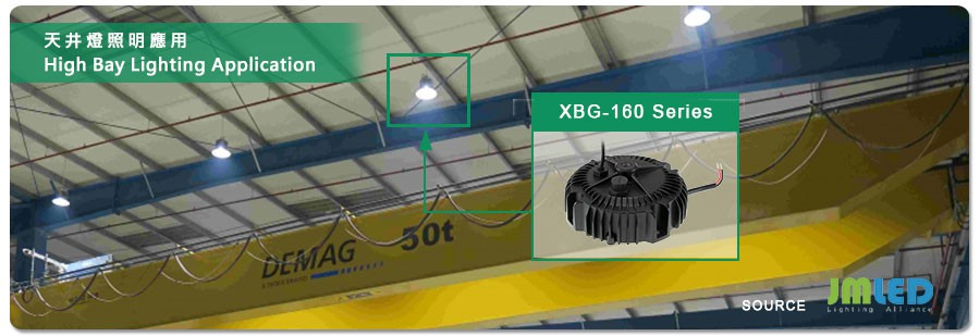 MEAN WELL расширяет ассортимент и предлагает источники питания XBG-160 с выходной мощностью 160 Вт