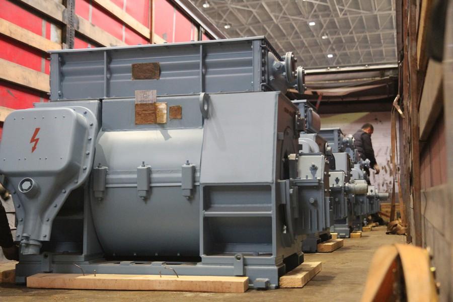 ЭЛСИБ отгрузил шесть электродвигателей на Сырдарьинскую ТЭС