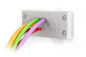 Icotek выпускает новую модель в серии пластин для ввода стандартных кабелей