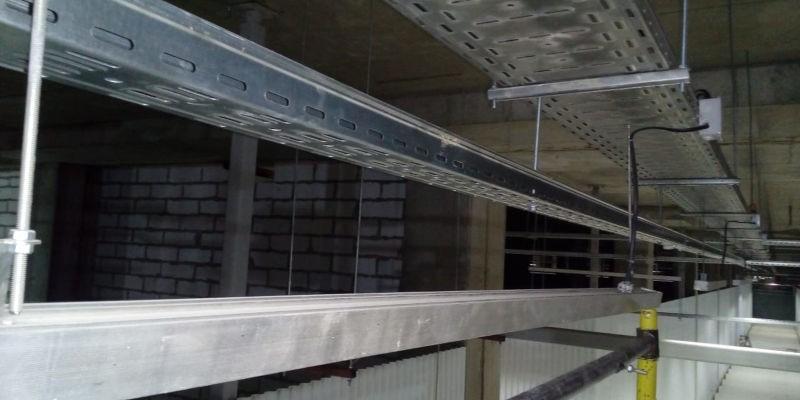 Система металлических лотков T-Line
