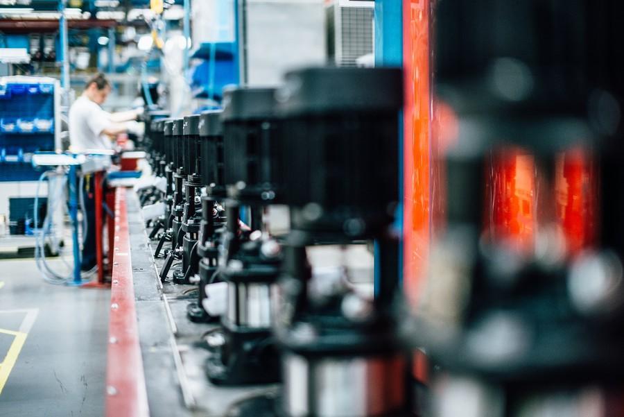 Grundfos признан лидером на мировом рынке центробежных насосов