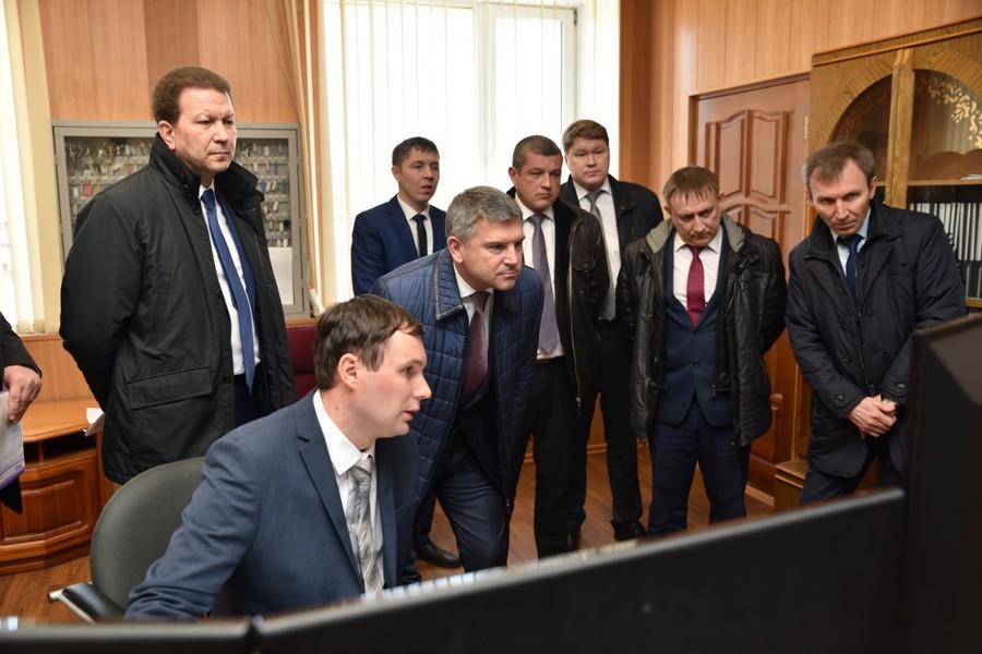 Ознакомился глава компании также с ходом реализации проекта по созданию первого в Республике Марий Эл цифрового РЭС