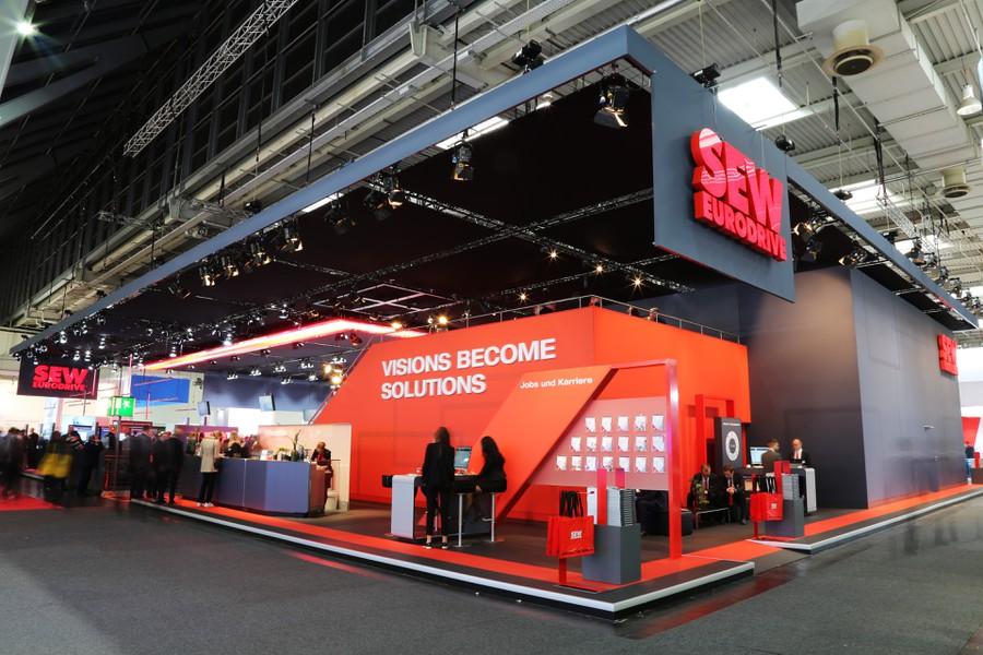 Компания SEW-EURODRIVE представила возможности MAXOLUTION® Factory Automation для создания «умных производств» на выставке «Ганновер Мессе»
