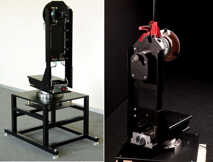 Трёхкоординатный гониометр установки «Флакс»