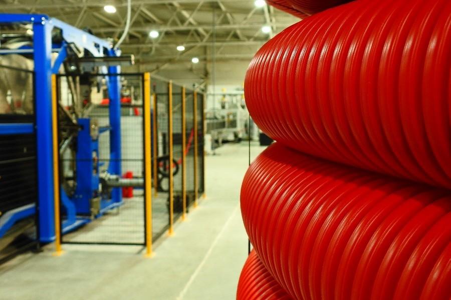 IEK GROUP запускает производство двустенных гофрированных труб ПНД