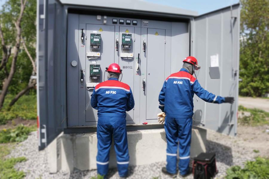 «РЭС» реконструирует электросети Новосибирска
