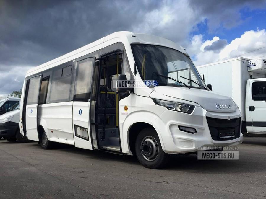 Городской автобус на базе шасси Iveco-70C