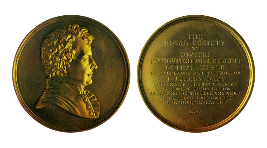 Размер имеет значение: Королевская медаль Лондонского королевского общества